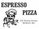Espresso Pizza  Menu