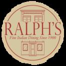 Ralph's Italian Restaurant Menu