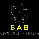 Bab Korean Fusion Menu