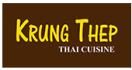 Krung Thep Thai Cuisine Menu