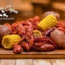 Blazin Cajun Seafood Menu