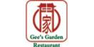 Gee's Garden Restaurant Menu