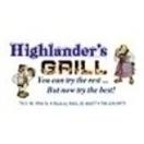 Highlander's Grill Menu