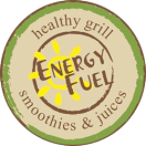 Energy Fuel Menu