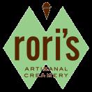 Rori's Artisanal Creamery Menu