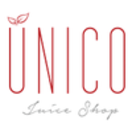 Unico Juice Shop Menu