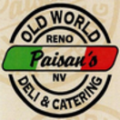 Paisan's Old World Deli & Catering Menu
