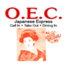 OEC Japanese Express Menu