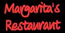 Margarita's Pizza & Breakfast Menu