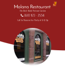 Molana Persian Restaurant Menu