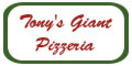 Tony's Giant Pizzeria (Formerly Philly Grill) Menu