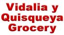 Vidalia y Quisqueya Grocery Menu