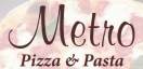 Metro Pizza & Pasta Menu