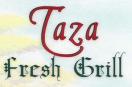 Taza Fresh Grill Menu