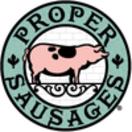 Proper Sausages Menu