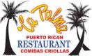 La Palma Puerto Rican Restaurant Menu