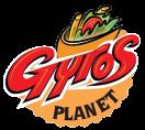 Gyros Planet Menu