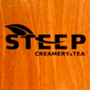 Steep Creamery & Tea Menu
