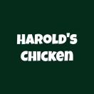 Harold's Chicken Menu