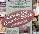 Lexington Candy Shop Menu