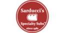 Sarducci's Specialty Subs Menu