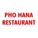 Pho Hana Restaurant Menu