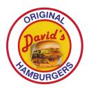 David's Hamburgers Menu