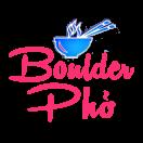 Boulder Pho Menu