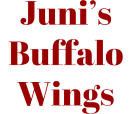 Juni's Buffalo Wings Menu