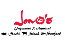 Jono's Japanese Restaurant Menu