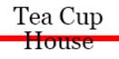 Tea Cup House Menu