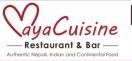 Maya Cuisine Restaurant & Bar Menu