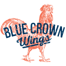 Blue Crown Wings Menu