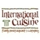 International Cuisine Menu