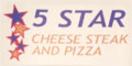 5 Star Cheese Steak & Pizza  Menu