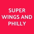 Super Wings and Philly Menu