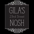 Gila's Nosh Menu