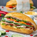 Q.T Vietnamese Sandwich Menu