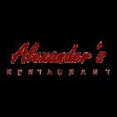 Alexander's Restaurant Menu
