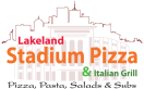 Stadium Pizza & Grill Menu