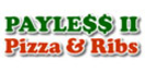 Payless Pizza #2 and Ribs Menu