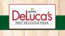 Mama DeLuca's Fast, Delicious Pizza Menu