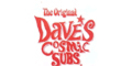 Dave's Cosmic Subs Menu