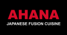 Ahana Japanese Fusion Cuisine (formerly Ayama) Menu