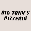 Big Tony's Pizza Menu