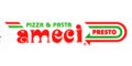 Ameci Pizza Menu