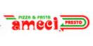 Ameci Pizza Menu