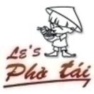 Le's Pho Tai Menu