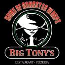 Big Tony's Pizza Menu