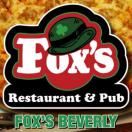 Fox's Beverly Restaurant & Pizza Menu